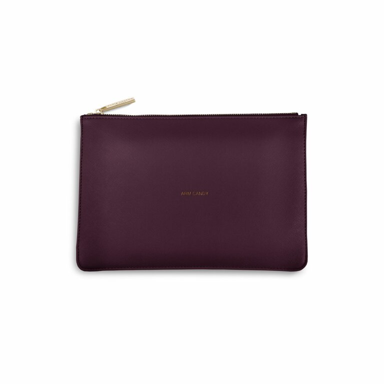Perfect Pouch | Arm Candy | Burgundy