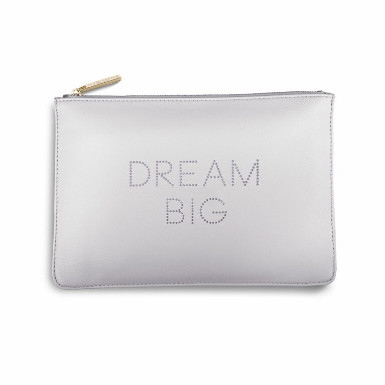 Polka Dot Perfect Pouch | Dream Big | Lilac