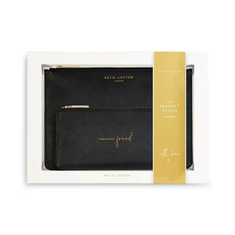 Perfect Pouch Gift Set | Fabulous Friend | Black
