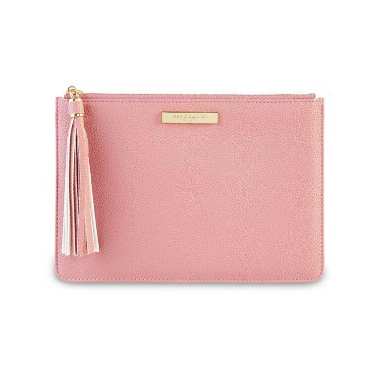 Sophia Tassel Pouch | Pink
