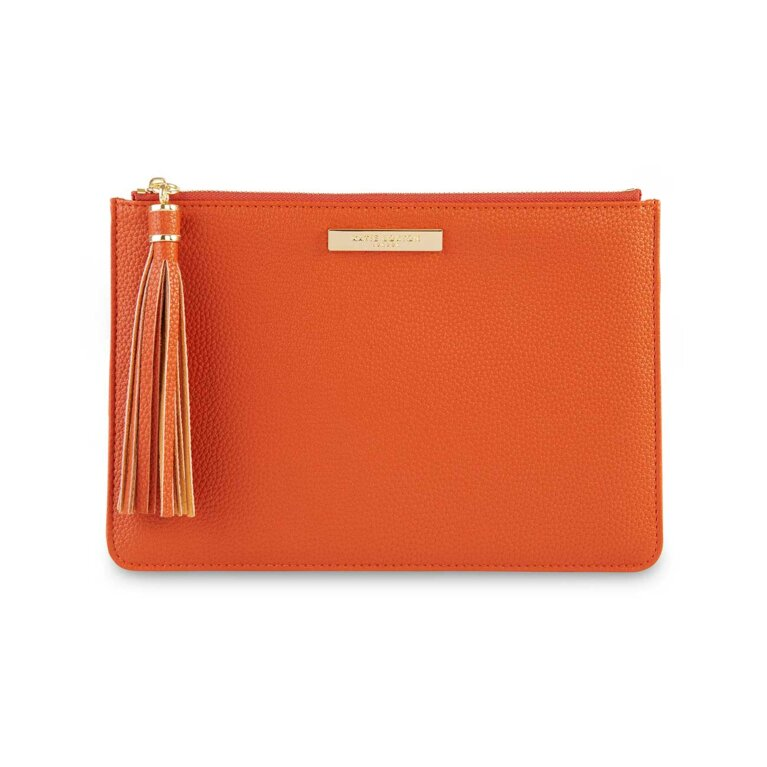 Tassel Pouch | Burnt Orange