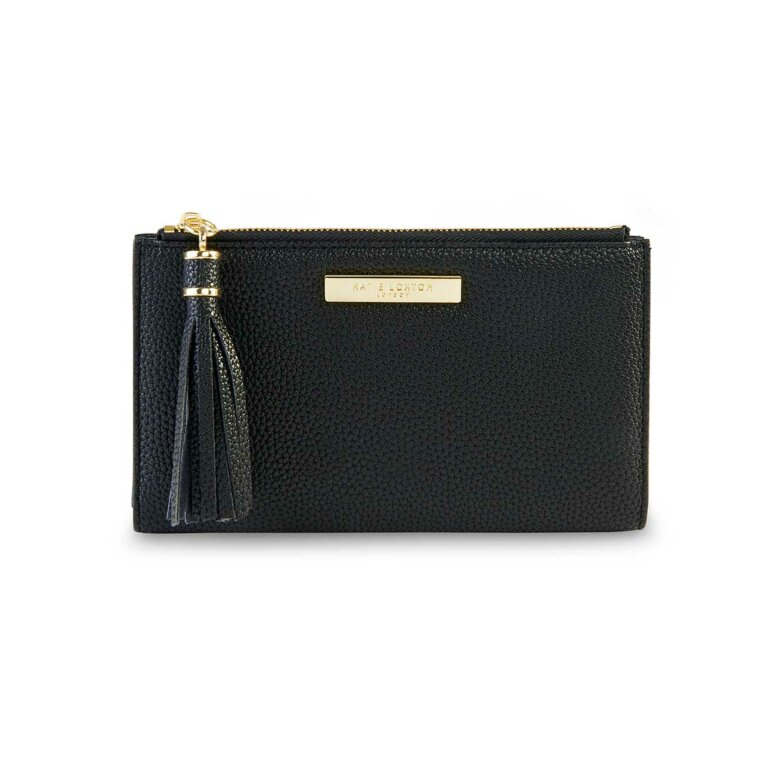 Sophia Tassel Fold Out Wallet | Black
