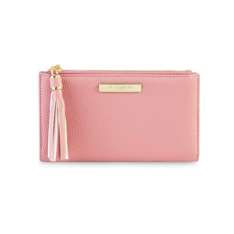 Sophia Tassel Fold Out Wallet | Pink