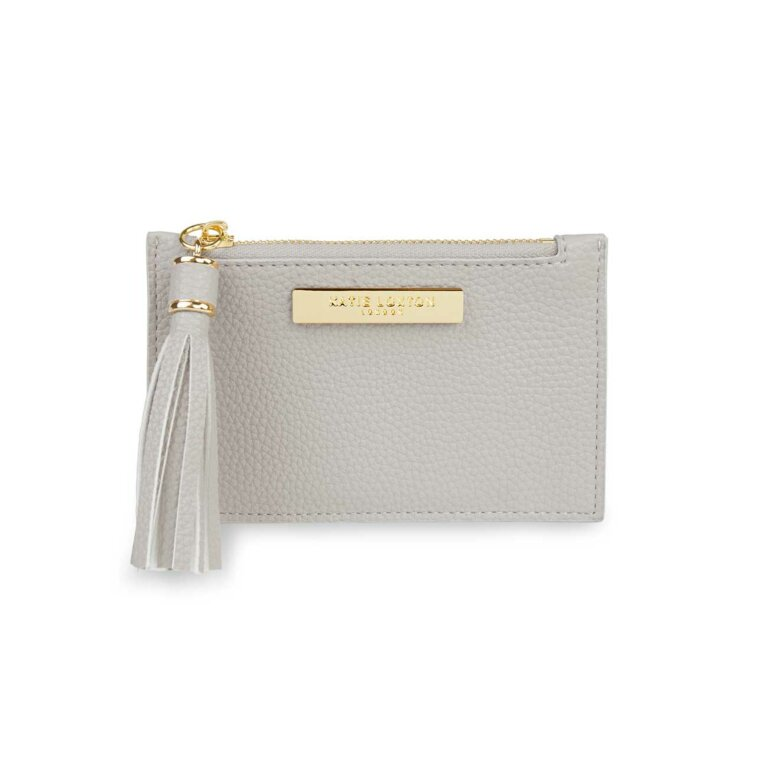 Tassel Card Holder | Stone