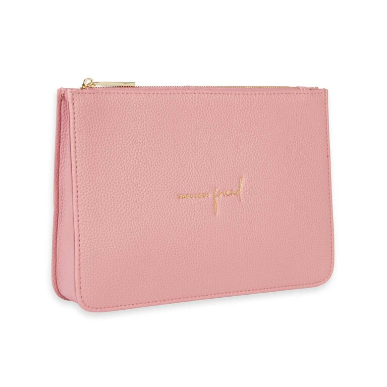Stylish Structured Pouch | Fabulous Friend | Pink