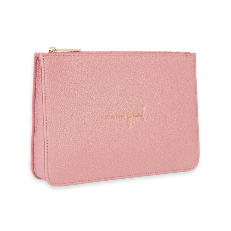 Stylish Structured Pouch | Fabulous Friend | Pink