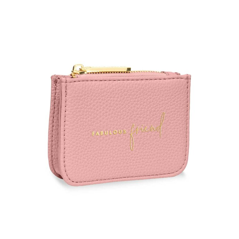 Stylish Structured Coin Wallet | Fabulous Friend | Pink
