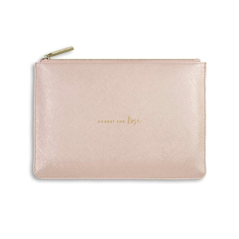 Perfect Pouch | Hooray For Rose | Pink