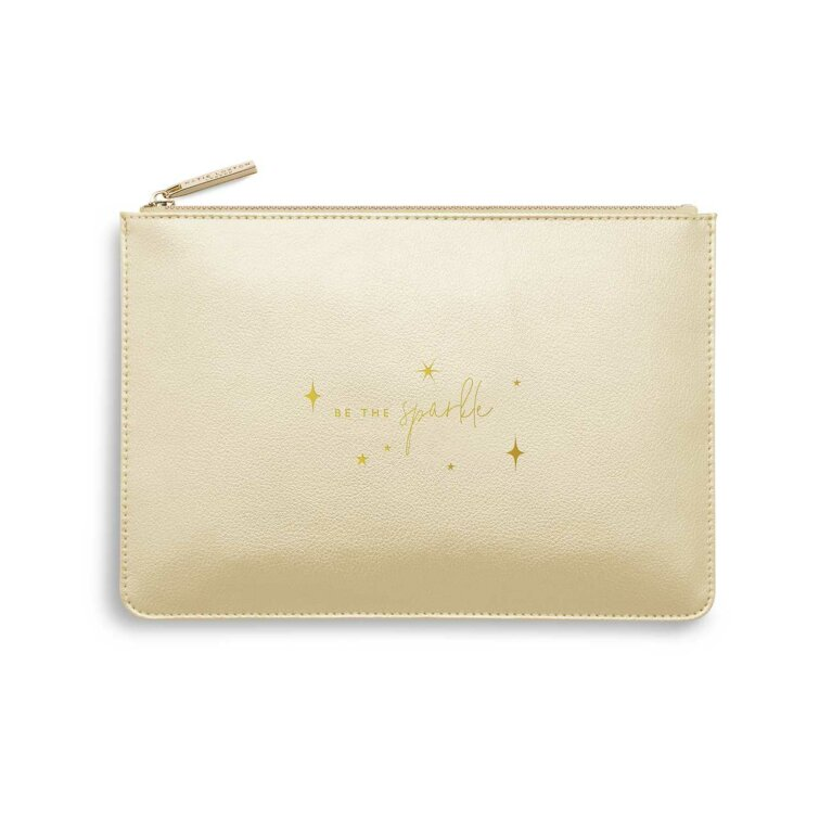 Perfect Pouch | Be The Sparkle | Gold