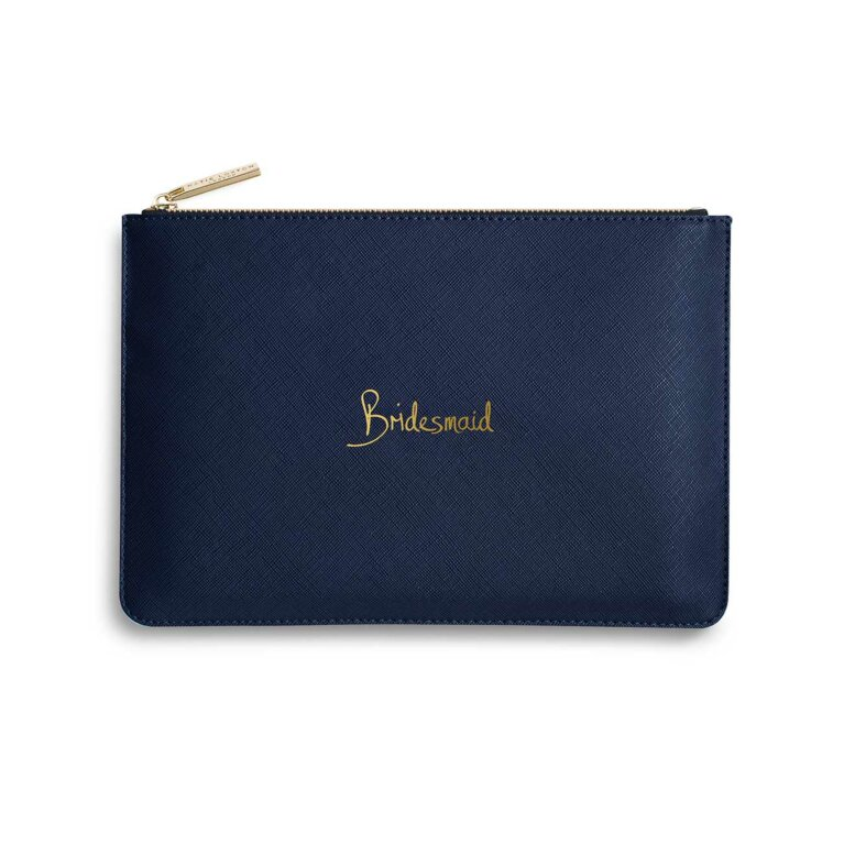 Perfect Pouch | Bridesmaid | Navy Blue