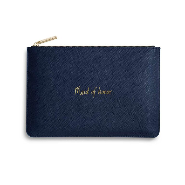 Perfect Pouch | Maid Of Honor | Navy Blue