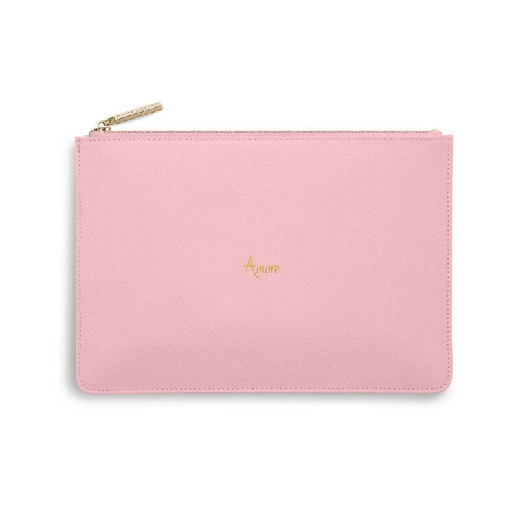 Perfect Pouch - Italian | Amore | Foxglove Pink