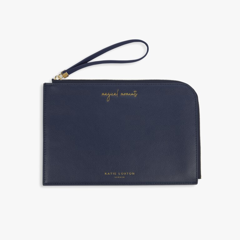 Secret Message Pouch Magical Moments In Navy