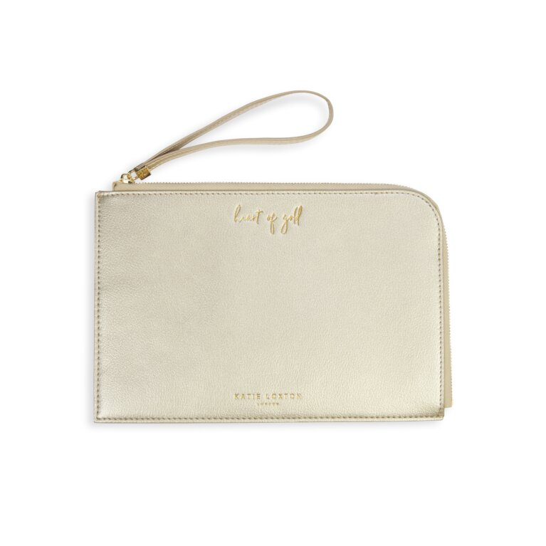 Secret Message Pouch Heart Of Gold You Are Wonderful In Gold