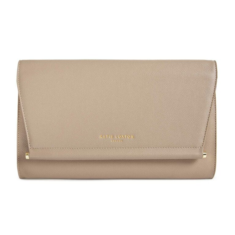 Ava Clutch | Taupe