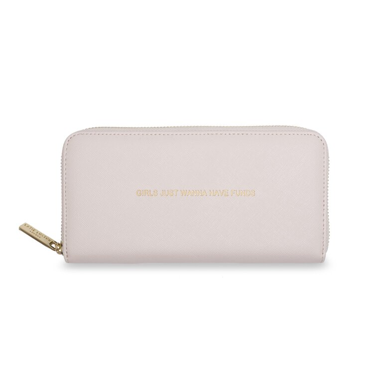 Large Purse | Girls Just Wanna Have Funds | Pale Pink