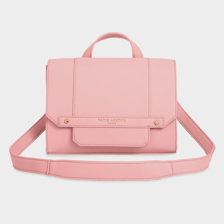 Mila Multi Way Backpack Crossbody Bag | Foxglove Pink
