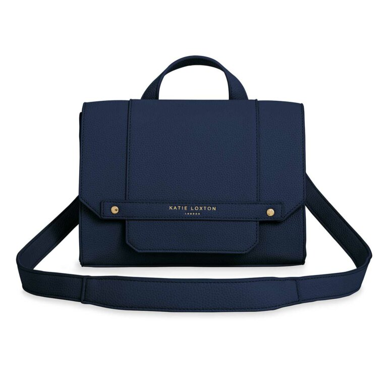 Mila Multi Way Backpack Crossbody | Navy Blue