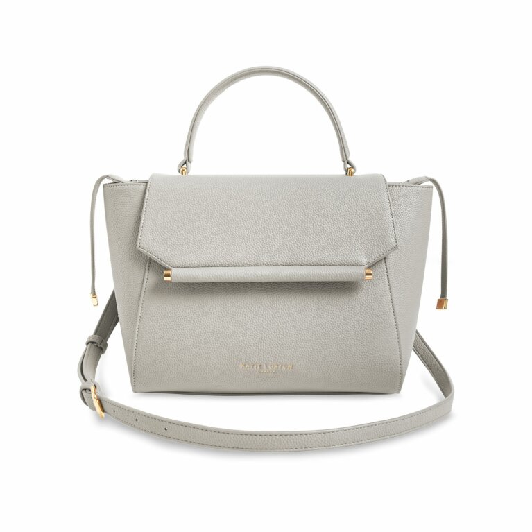 Ava Top Handle Bag | Stone