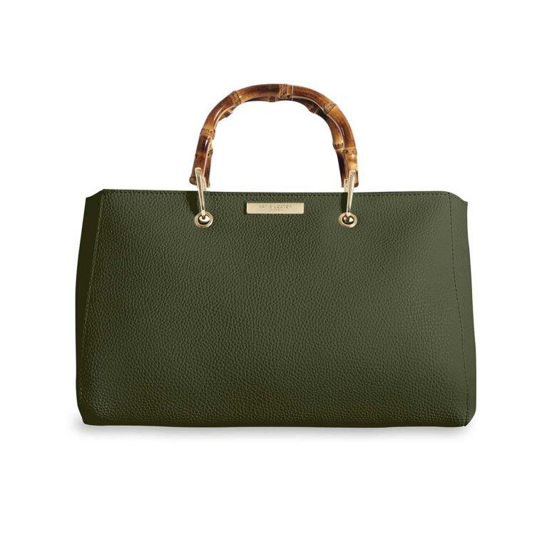 Avery Bamboo Bag | Khaki