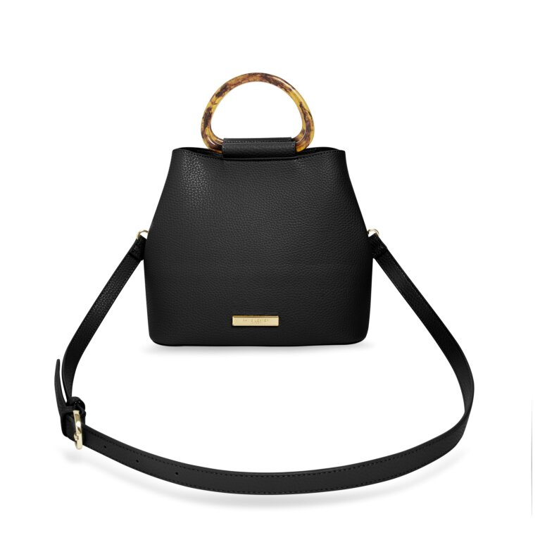 Tori Tortoiseshell Bag In Black