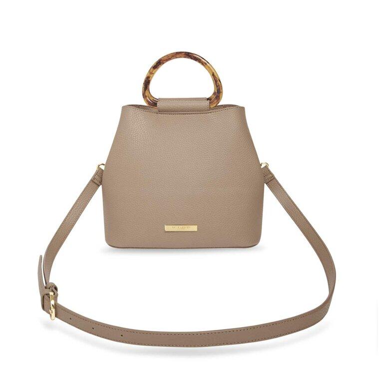 Tori Tortoiseshell Bag | Taupe