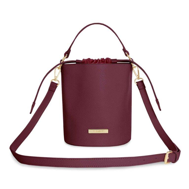 Amara Crossbody Bag | Burgundy