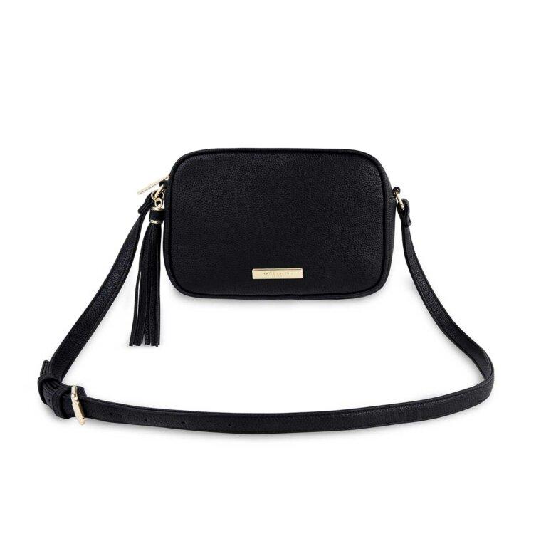Sophia Tassel Crossbody Bag | Black