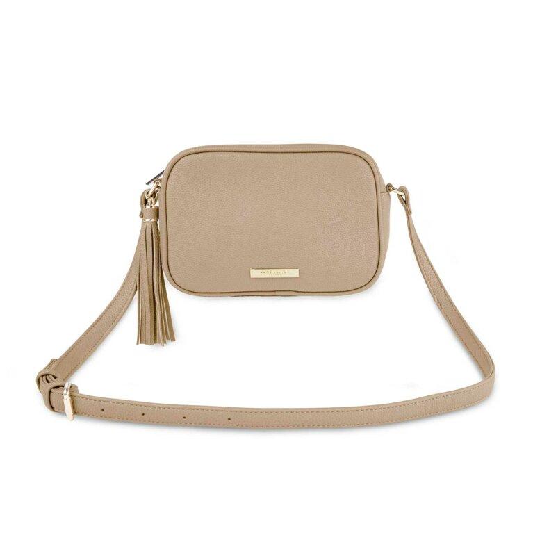 Sophia Tassel Crossbody Bag | Taupe