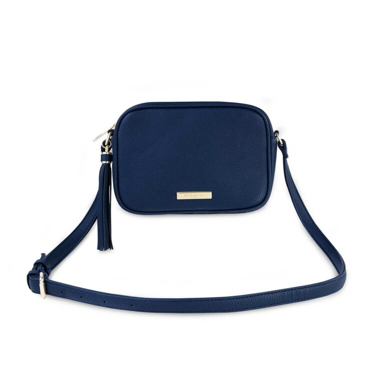 Sophia Tassel Crossbody Bag  | Navy