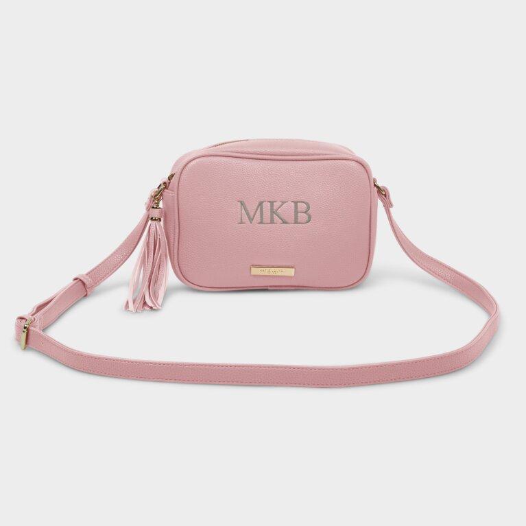 Sophia Tassel Crossbody Bag In Pink