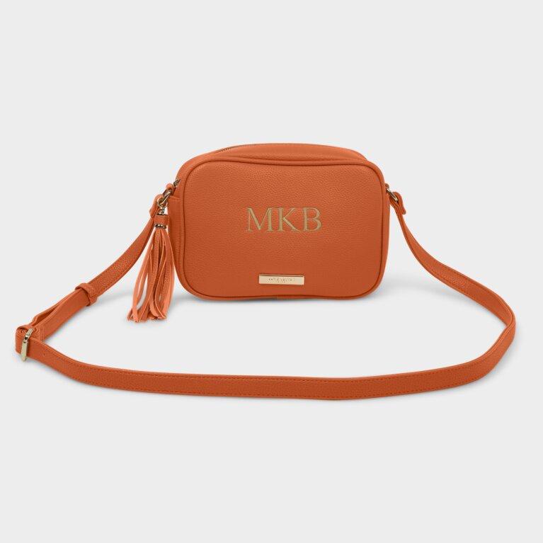 Sophia Tassel Crossbody Bag In Orange