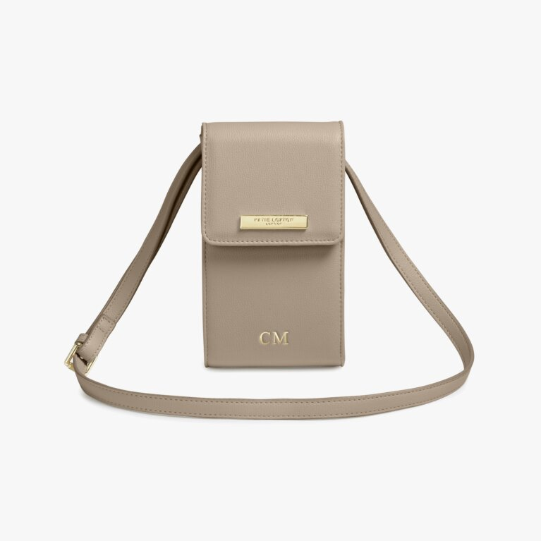 Taylor Crossbody Bag In Taupe