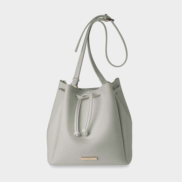 Handbag | Chloe Bucket Bag | Gray
