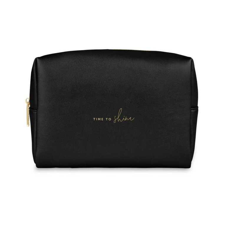 Colour Pop Wash Bag | Time To Shine | Black