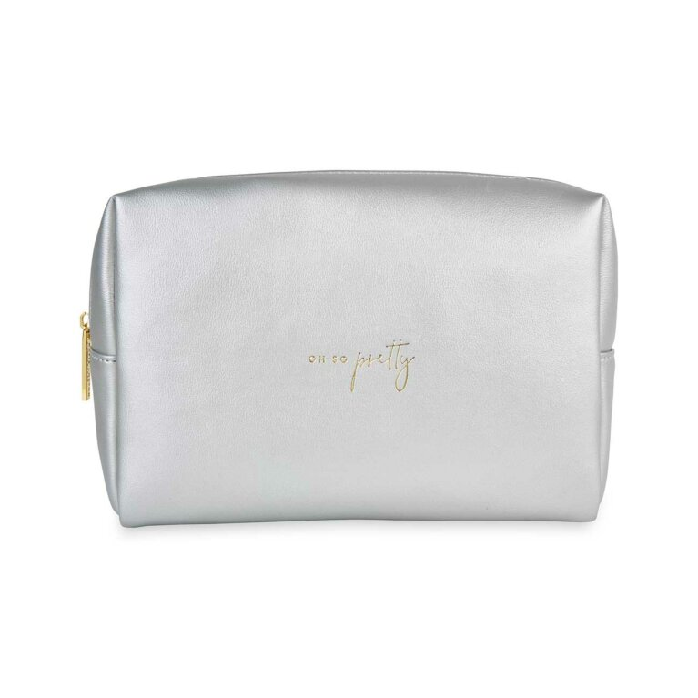 Colour Pop Wash Bag | Oh So Pretty | Silver