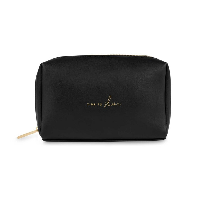 Colour Pop Make Up Bag | Time To Shine | Black
