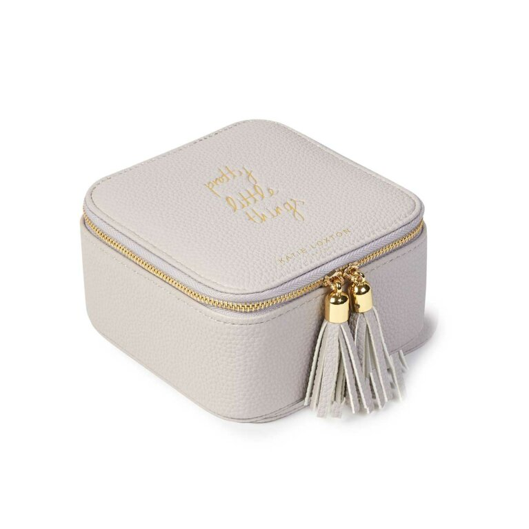 Tassel Square Jewellery Box | Pretty little Things | Stone