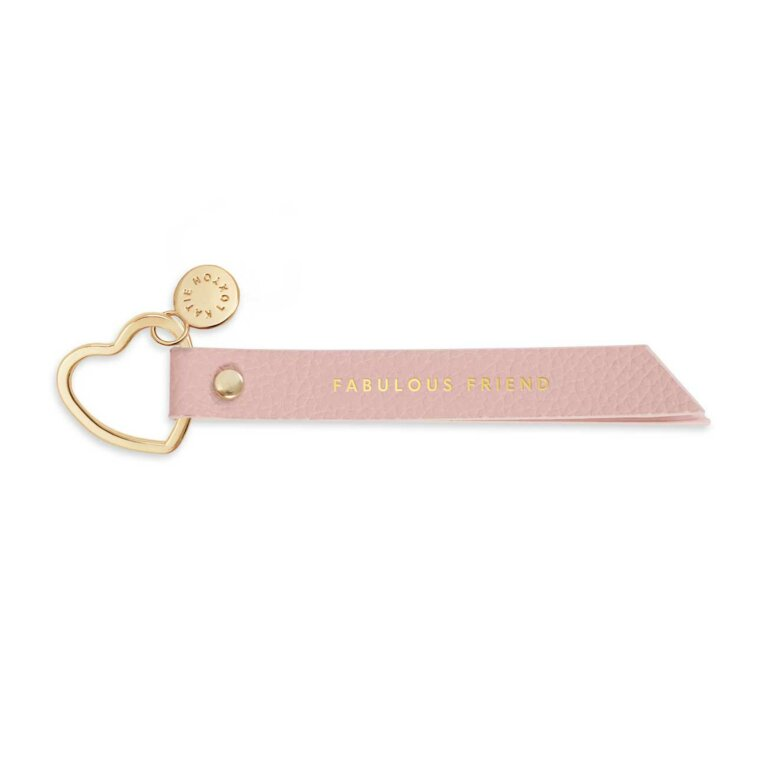 Flag Keyring | Friend | Pink