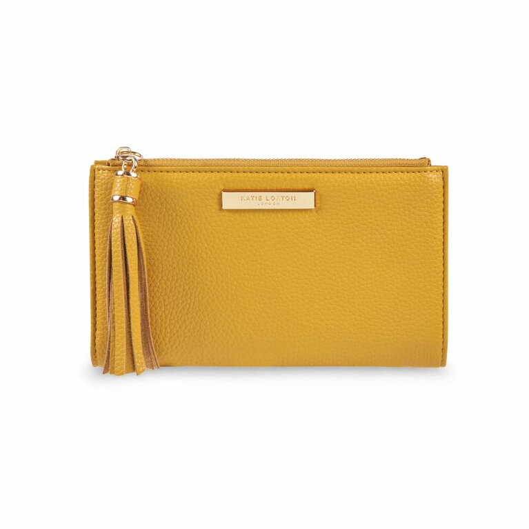 Sophia Tassel Fold Out Wallet | Ochre