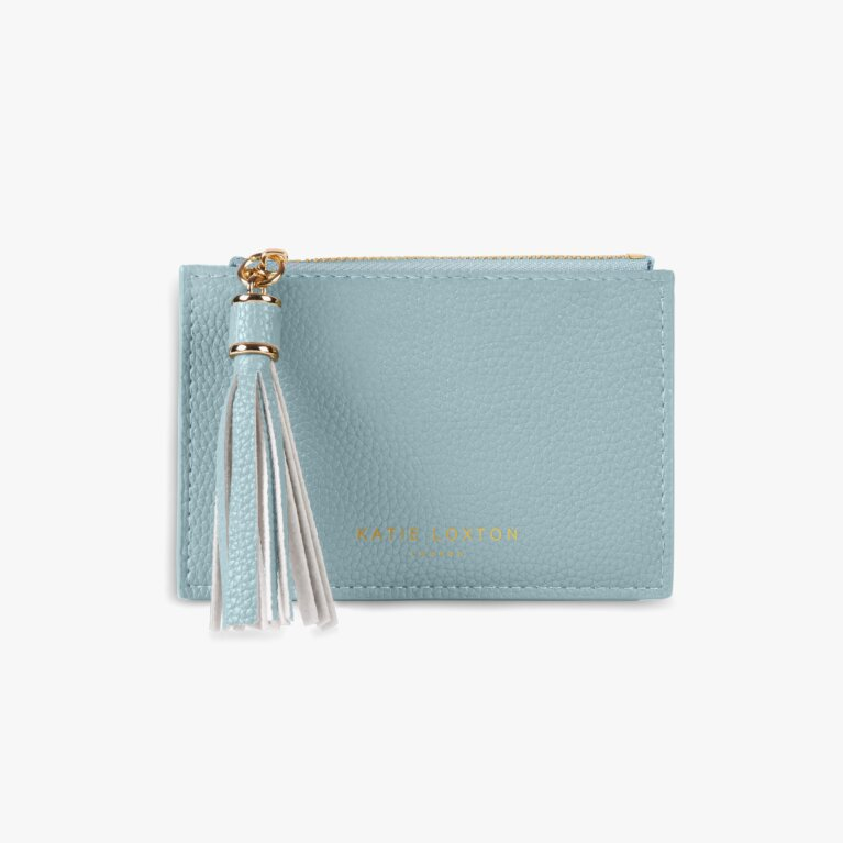 Sophia Tassel Coin/Card Purse | Pale Blue