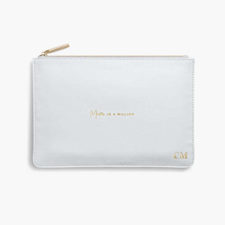 Perfect Pouch | Mum In A Million | Grey