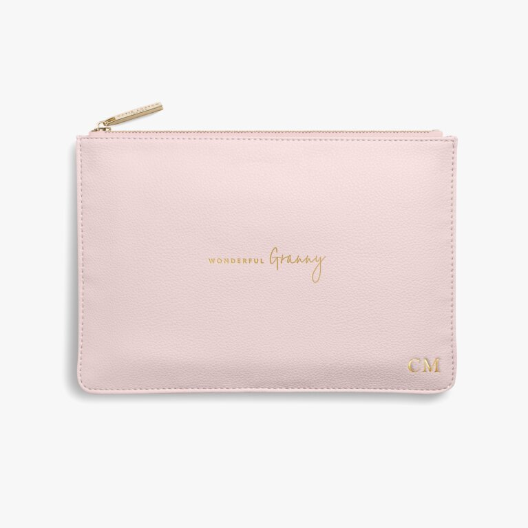 Perfect Pouch | Wonderful Granny | Blush Pink