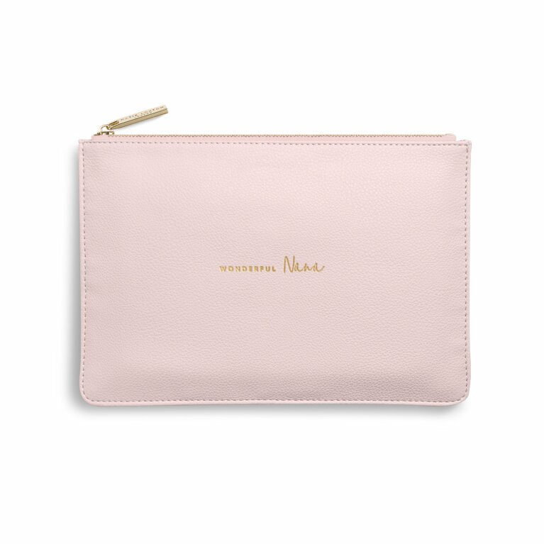 Perfect Pouch | Wonderful Nana | Blush Pink