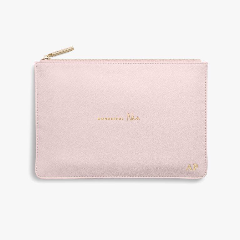 Perfect Pouch | Wonderful Nan | Blush Pink