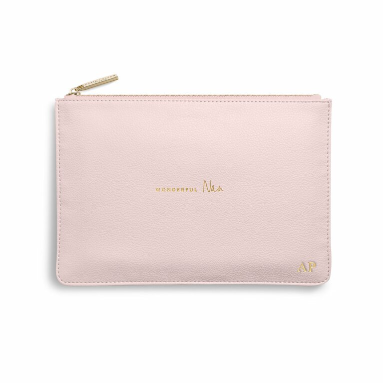 Perfect Pouch | Wonderful Nan | Blush Pink