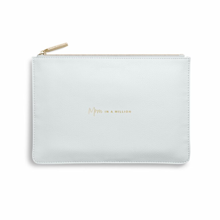 Perfect Pouch | Mom In A Million | Gray
