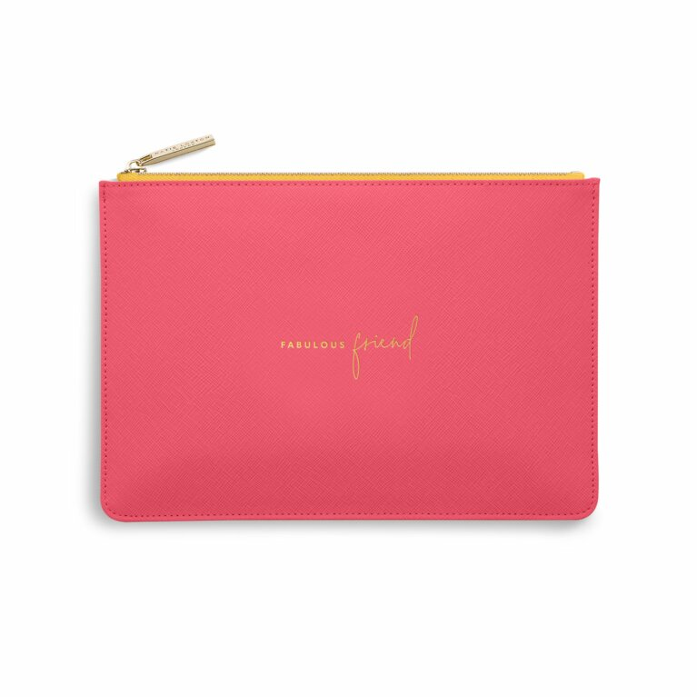 Color Pop Perfect Pouch | Fabulous Friend | Fuchsia and Ochre
