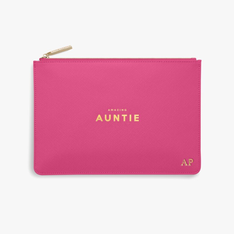 Perfect Pouch | Amazing Auntie | Fuchsia