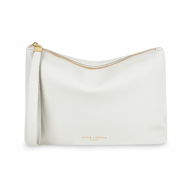 Isla Clutch | White